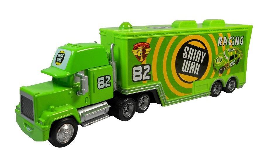 SHINY WAX RACING #82 Truck Pixar CARS Team Diecast Child Boy Toy Wholesale(China (Mainland))