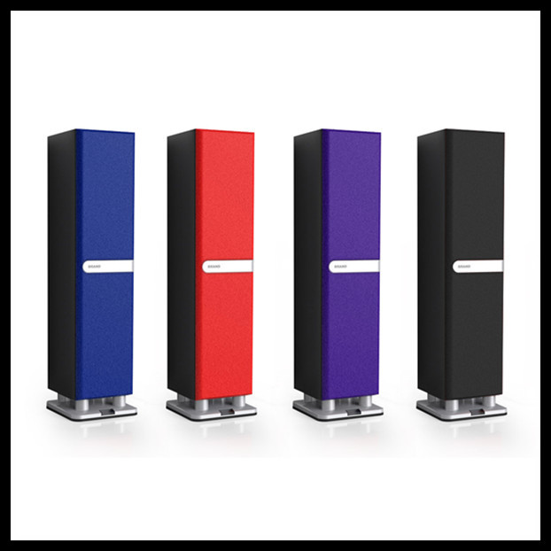 New hifi stereo tower stand bluetooth stereo speaker with microphone ,desktop stereo speaker(China (Mainland))