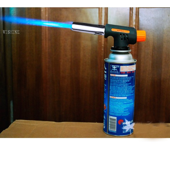 Hiking Camping Welding Gas Torch Flame Gun Lighter(China (Mainland))