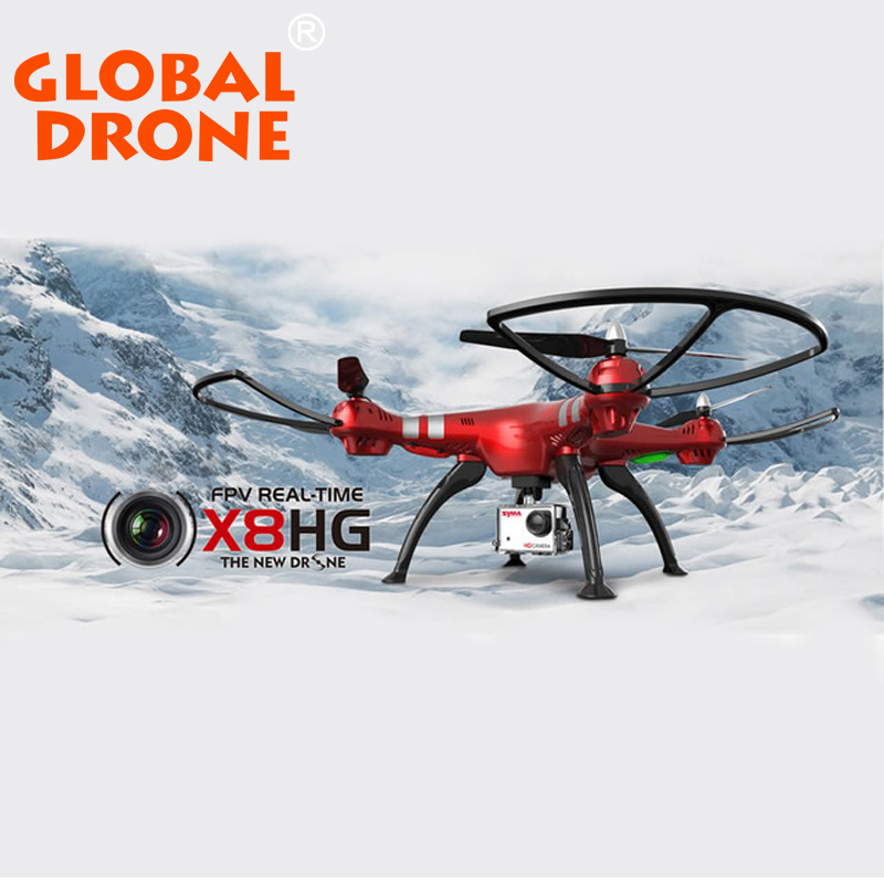 New Arrival Syma X8HG Wifi FPV 3D Rolling Dron RC 2 4G Remote control 6 Axis