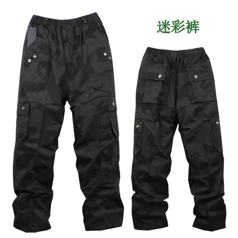 Children's clothing 2014 spring autumn big boy casual pants male child Camouflage cool 100% cotton trousers - Caiba fashion store