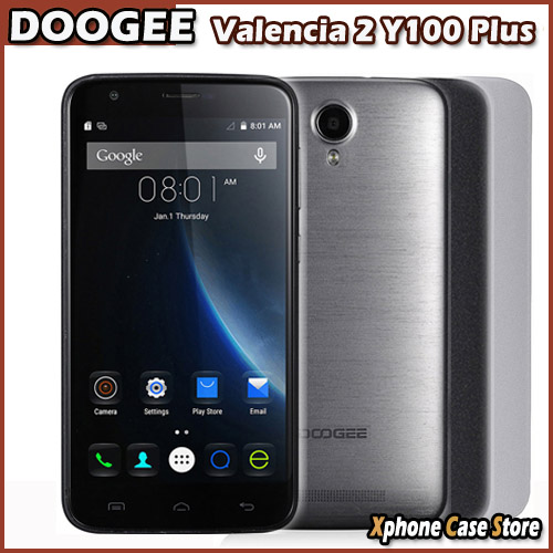 Instock Original Doogee Valencia 2 Y100 Plus 5.5inch 16GBROM 2GBRAM 4G Smartphone Android 5.1 MTK6735 Quad Core OTG Play Store(China (Mainland))