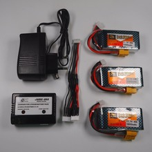 3pcs Original ZOP LiPo Battery 11.1V 1500Mah 3S 40C MAX 60C XT60 Plug and charger RC Car Airplane trucks buggy boats Helicopter