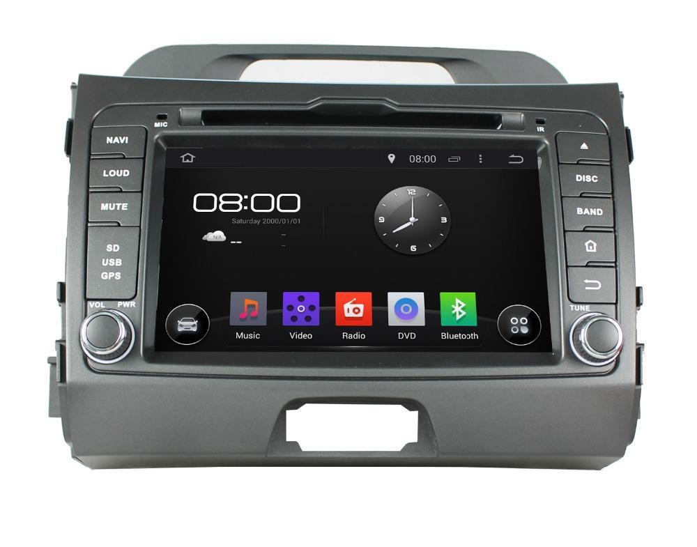 Free Shipping+Quad Core HD1024*600 Android 4.4.4 For Kia Sportage 2010-2012 Radio DVD+GPS Navigation Capacitive Screen+WIFI 3G(China (Mainland))