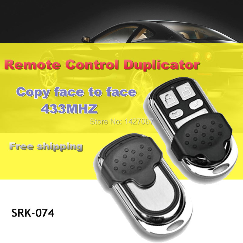 Face to Face Copy Garage Gate Universal Remote Control, Radio Remote Control Duplicator, Remote Control Switch 433 Copy(China (Mainland))