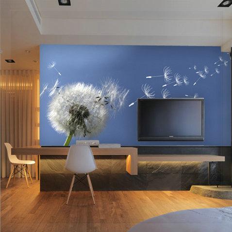 Dancingly wallpaper mural rustic wallpaper modern brief wallpaper wood living room(China (Mainland))