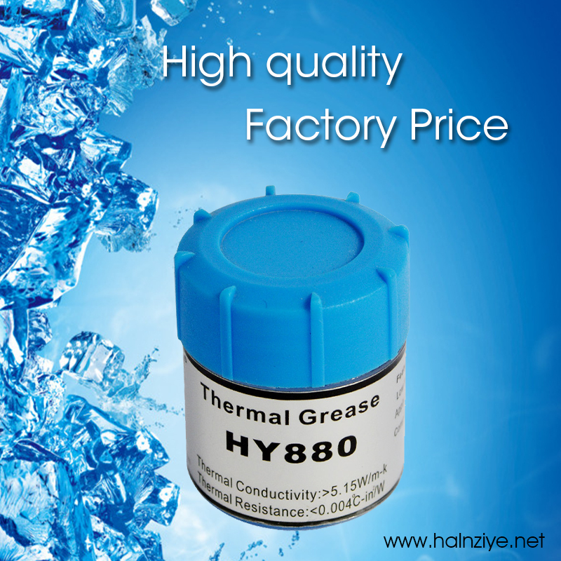 Free shipping!!! printed circuit boards silicone thermal grease/thermal compound/thermal paste HY880 10g for 3D printer(China (Mainland))