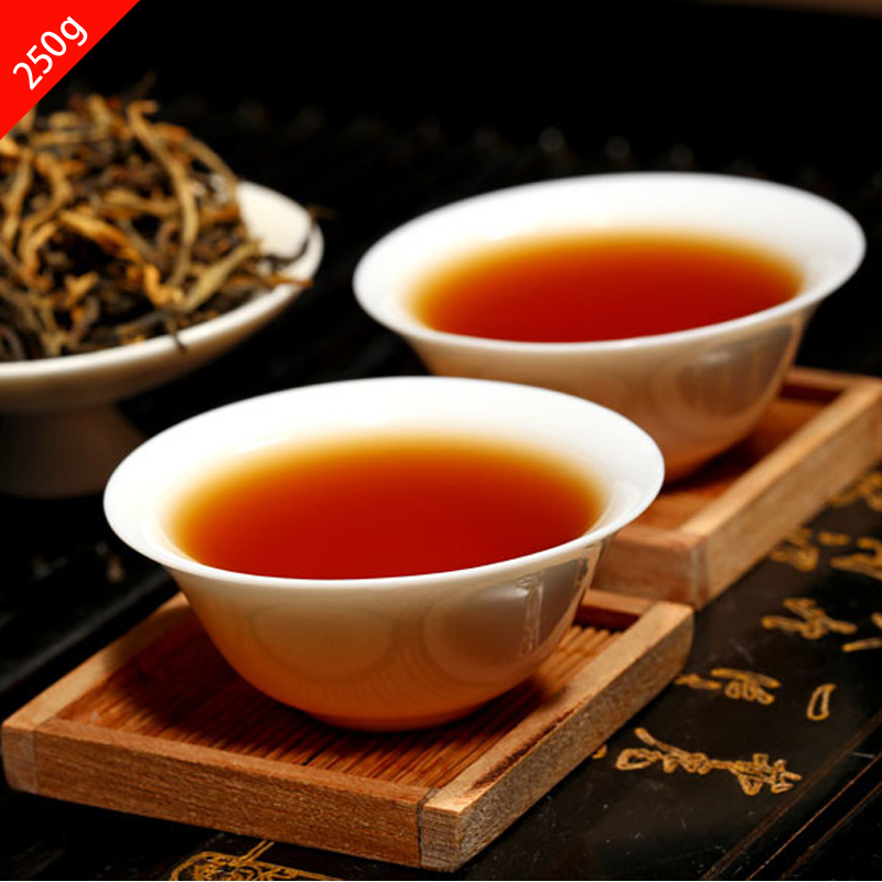 YunNan dianhong black tea 5piece Gift Tea Food 2015 new tea Chinese Organic Tea farmers direct marketing FREE SHIPPING DH001<br><br>Aliexpress