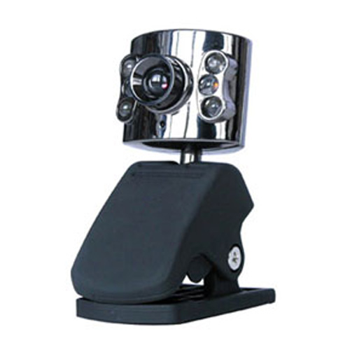 30.0 Mega Pixel USB 2.0 Camera Webcam 6 Led Light Dimmer 30M HD Web Cam With Mic Microphone For PC Computer Laptop Desktop(China (Mainland))