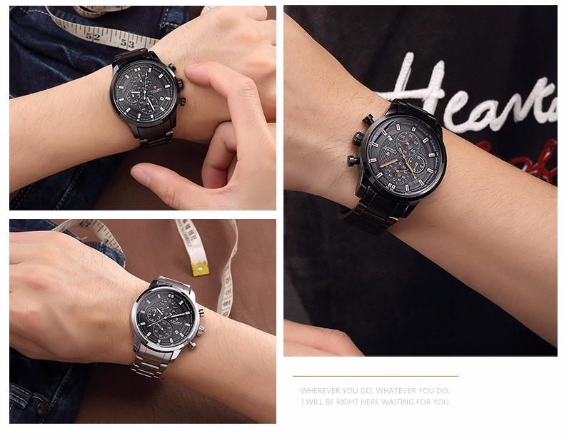 LONGBO Luxury Brand мужские Спортивные Часы Из Нержавеющей Стали Аналоговый Водонепроницаемый Многофункциональный Мужские Наручные Часы Relogio мужской 80181