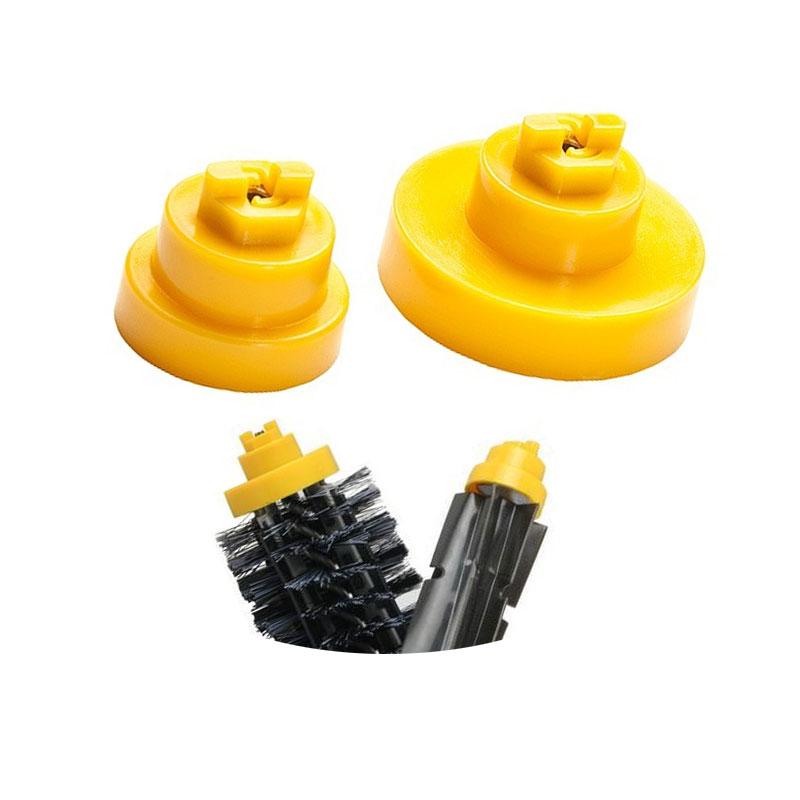 2Pcs Bristle Flexible Beater Brush Bearings for iRobot Roomba 600 700 Series 620 625 630 650 660 760 770 780 Vacuum Cleaners(China (Mainland))