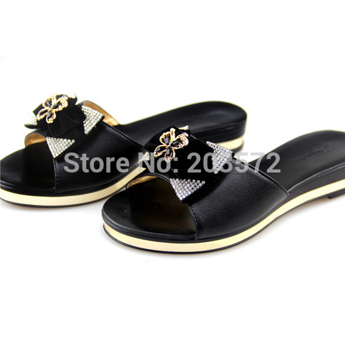 2015 [Y.QUEEN]hot model New flat slippers shoes woman sandals big size 37 43 Sandals Shoes - suiwen liu's store