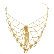 1Pcs Charming Chain Mesh Headband New Fashion Women Bridal Hair Headwear Decoration Accessories for Wedding Party Golden