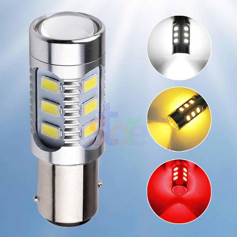 2pcs Cree led 1157 BAY15D 12 led Samsung 5630smd High Power LED Tail Brake Stop Light Bulbs Red car light source p21/5w led(China (Mainland))
