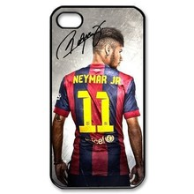 The Football Team Neymar Da Silva Numer 11 Case Cover For Iphone 4 4s 5 5s 5c 6 6plus