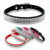 4 Rows Rhinestone Puppy Dog Cat Collars Bling Diamante Buckle For Small Medium Dogs