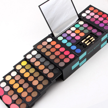 Miss Rose Pro 148 Colors Eyeshadow Pallete Full Combination 3 Colors Blushers Lip Gloss Concealer Women Cosmetic Makeup Palette(China (Mainland))