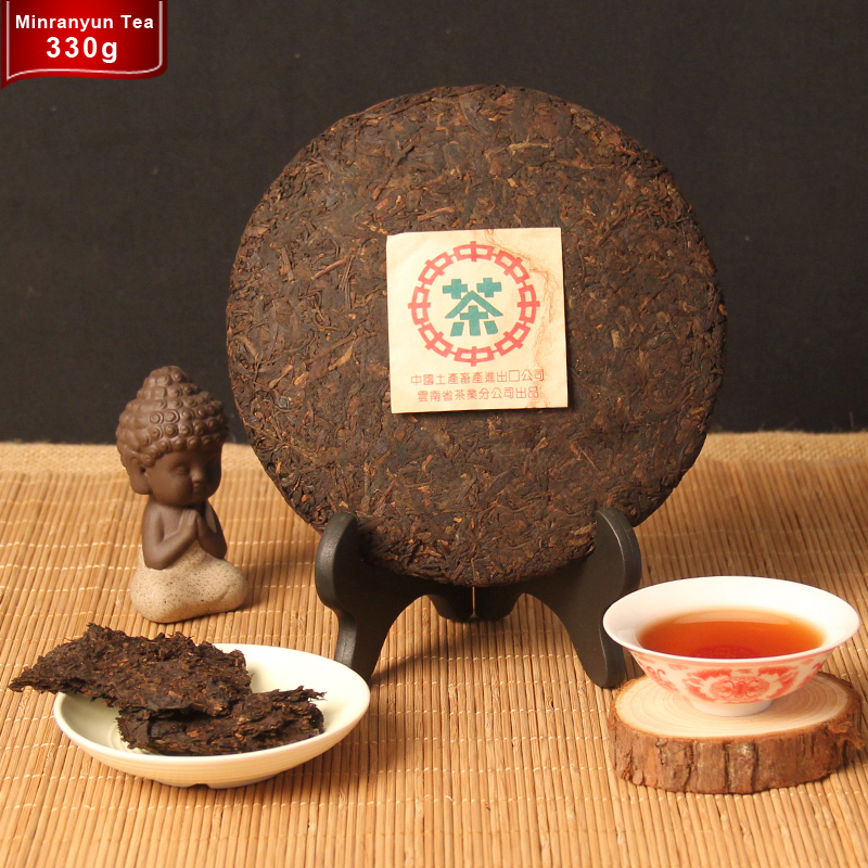 Promotion 33 years old Top grade Chinese Puer Tea Slimming Health Tea Down Three High Beauty Prevent Arteriosclerosis Green food(China (Mainland))