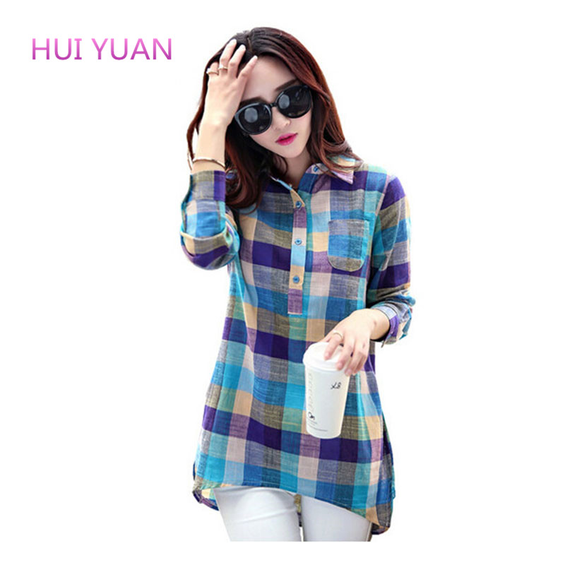 High Quality Women S Cotton Blouses Blue Denim Blouses
