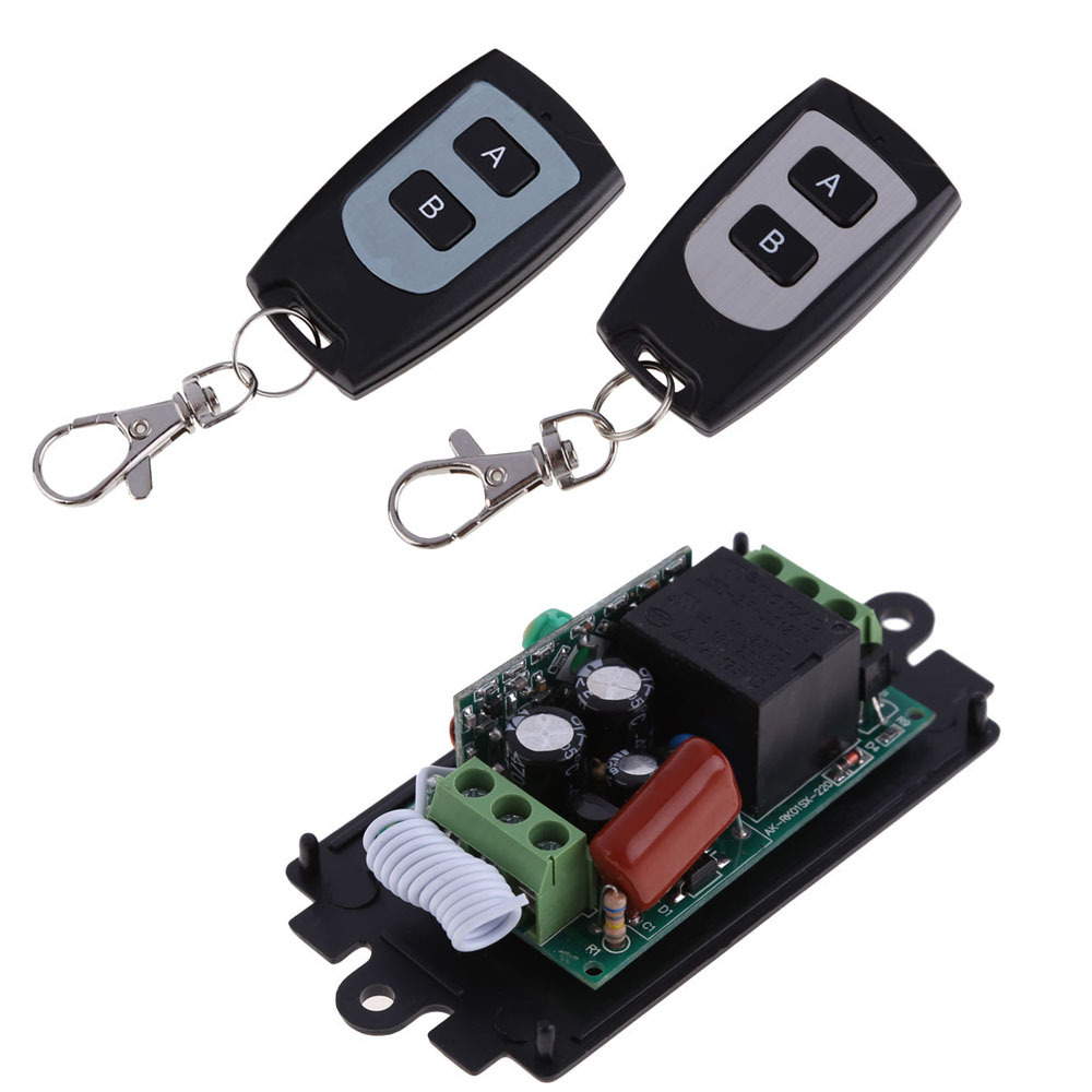 High Quality New 220V 10A 1 Channel Wireless Relay Remote Control Switch RF 315MHz NG4S(China (Mainland))