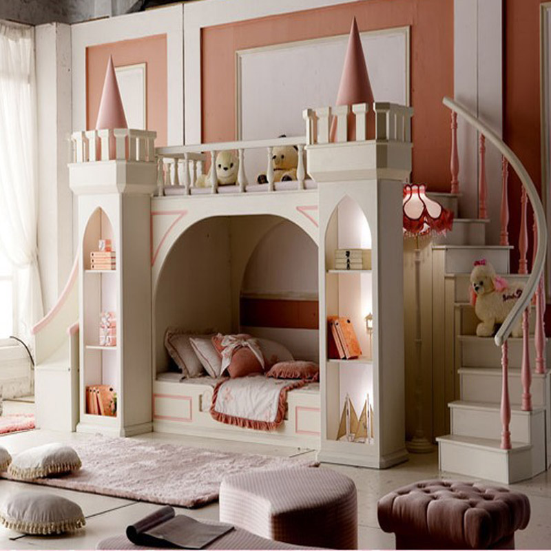 chambre garcon avec toboggan. Black Bedroom Furniture Sets. Home Design Ideas