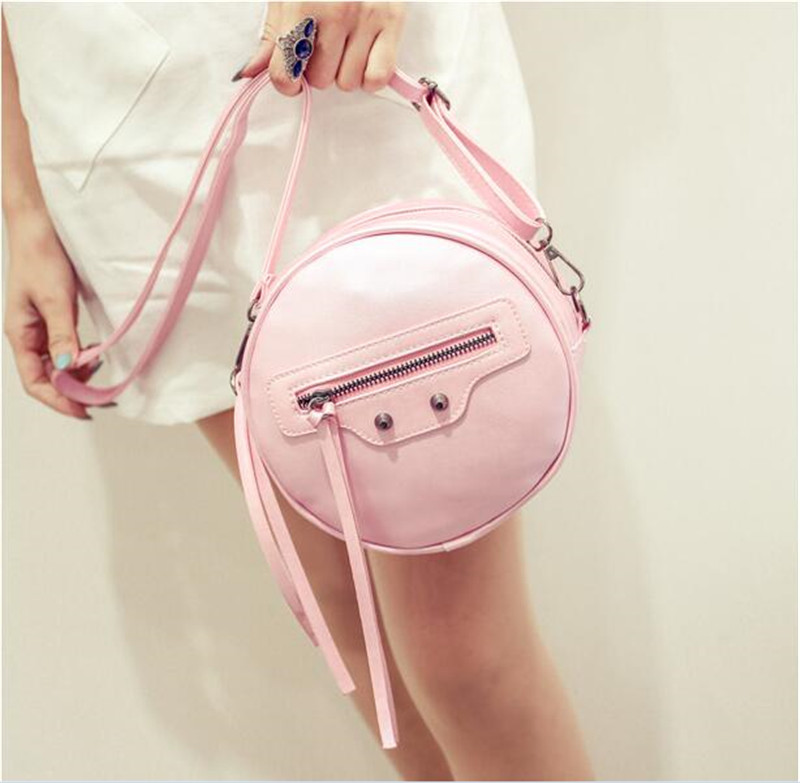 The new Japanese and Korean zipper embarrassing face buns cute girls casual shoulder bag Messenger packet mini phone(China (Mainland))