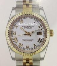 Hombres del reloj de reloj mecánico 36 mm de relojes de zafiro reloj para hombre de lujo zafiro 1-3 color