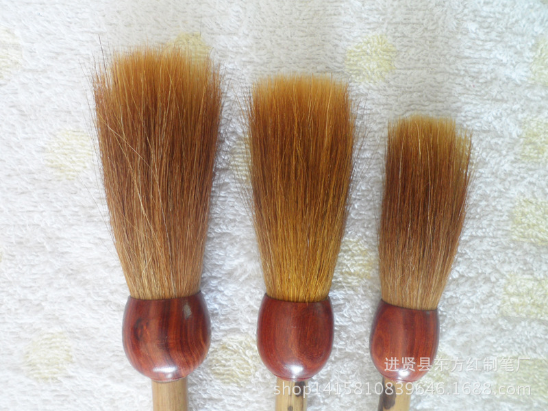 high quality weasel hair big brush couplet master calligraphy pen calligraphy painting brush lake brush pen three pieces a set