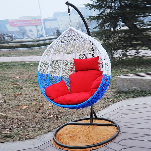 Basket dormitory balcony hammock swing hanging chair indoor wicker outdoor furniture rattan rocking(China (Mainland))