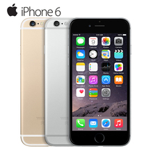 Original Apple iPhone 6 Dual Core IOS Mobile Phone 4.7' IPS 1GB RAM 16/64/128GB ROM 4G LTE Unlocked Used Cell Phone(China (Mainland))