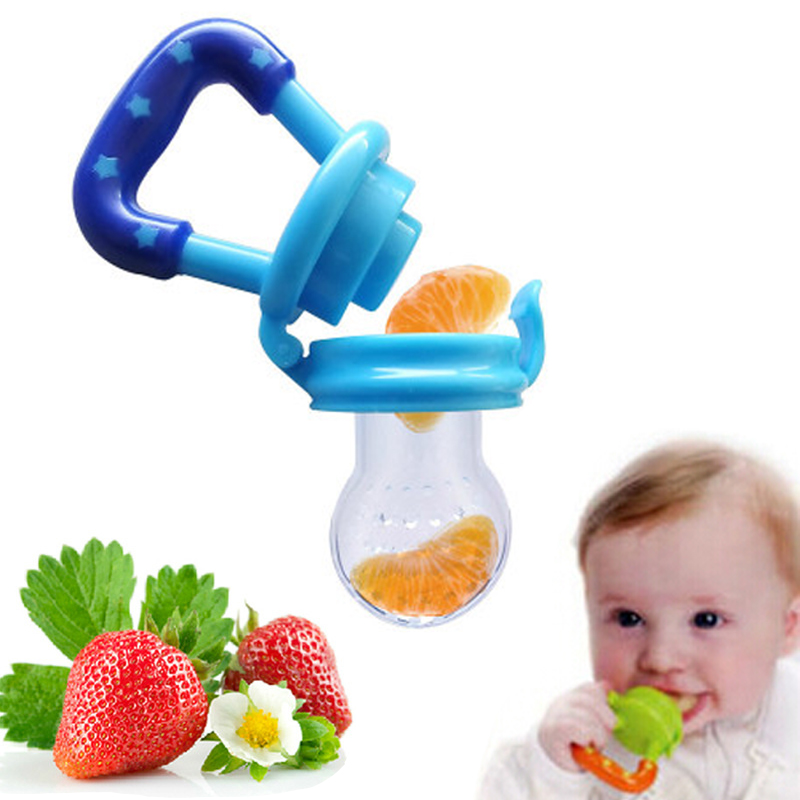 1PCS/Lot New Kids Nipple Fresh Food Milk Nibbler Feeder Feeding Tool Safe Baby Nipple Teat Pacifier Bottles BC09