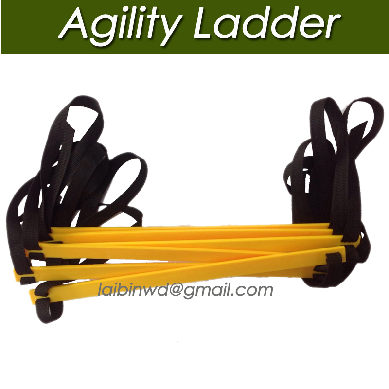 top quality Durable 7 rung 10.5 Feet 3.5M Agility Ladder Soccer Speed Football Fitness Feet Training ladder Freeshipping(China (Mainland))