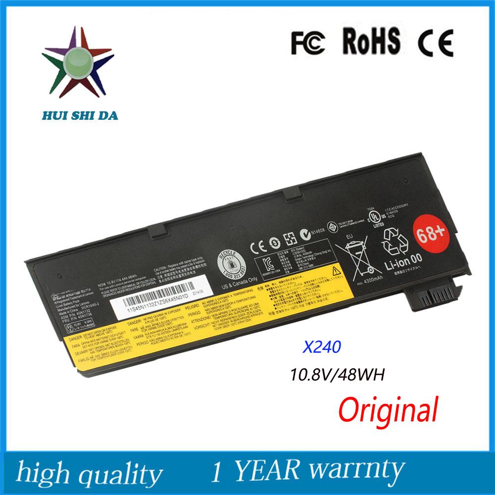 10.8V 48Wh New Original Laptop Battery for lenovo Thinkpad X240 T440 T450 X250 K2450S