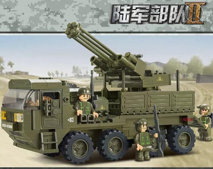 Anti-aircraft Gun Modern With an Anti-aircraft Gun