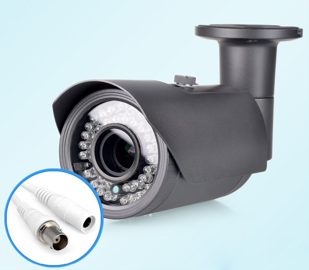 Hot Sale HD 1000TVL IR Filter 24 Hours Day/Night Vision Video Outdoor Waterproof Security Bullet Surveillance CCTV Camera J184<br><br>Aliexpress