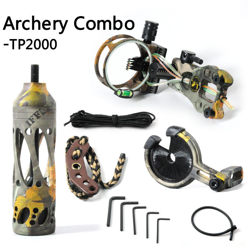 camo right hand hunting compound bow and arrow set archery accessories 10pcs arrows Draw weight adjustable