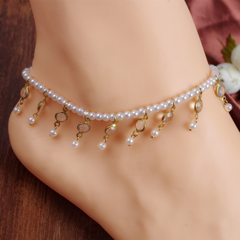 Image Gallery Handmade Beaded Anklets