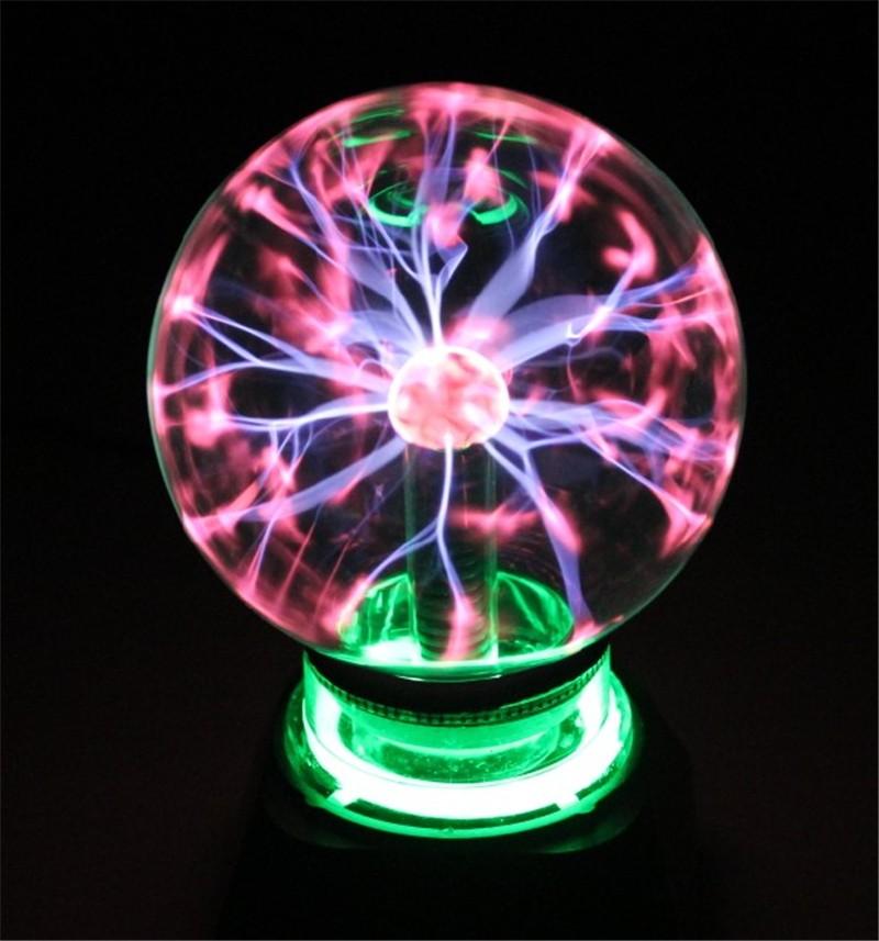 "Plasma Ball Sphere Light Magic Crystal And holiday Lamp 4 5 6 8"" inch Magic PLASMA BALL RETRO LIGHT kids room decor Gift Box(China (Mainland))"