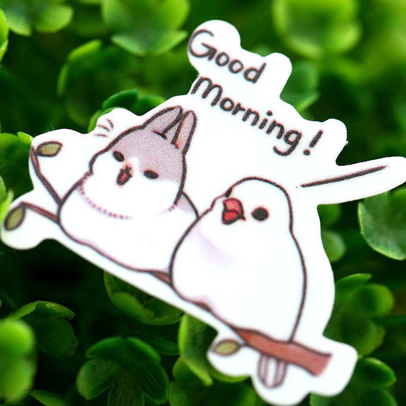 20 pcs /lot cute korean stationery rabbit paper kawaii scrapbooking stickers sticky notes/filofat /decoration lable(China (Mainland))