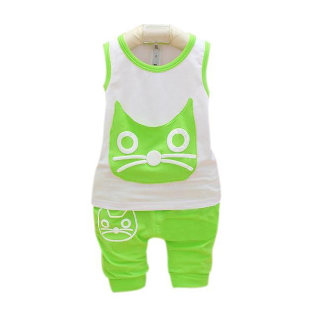 Мальчиков рукавов топы жилеты футболки брюки Wean малыша одежда спортивные шорты ...