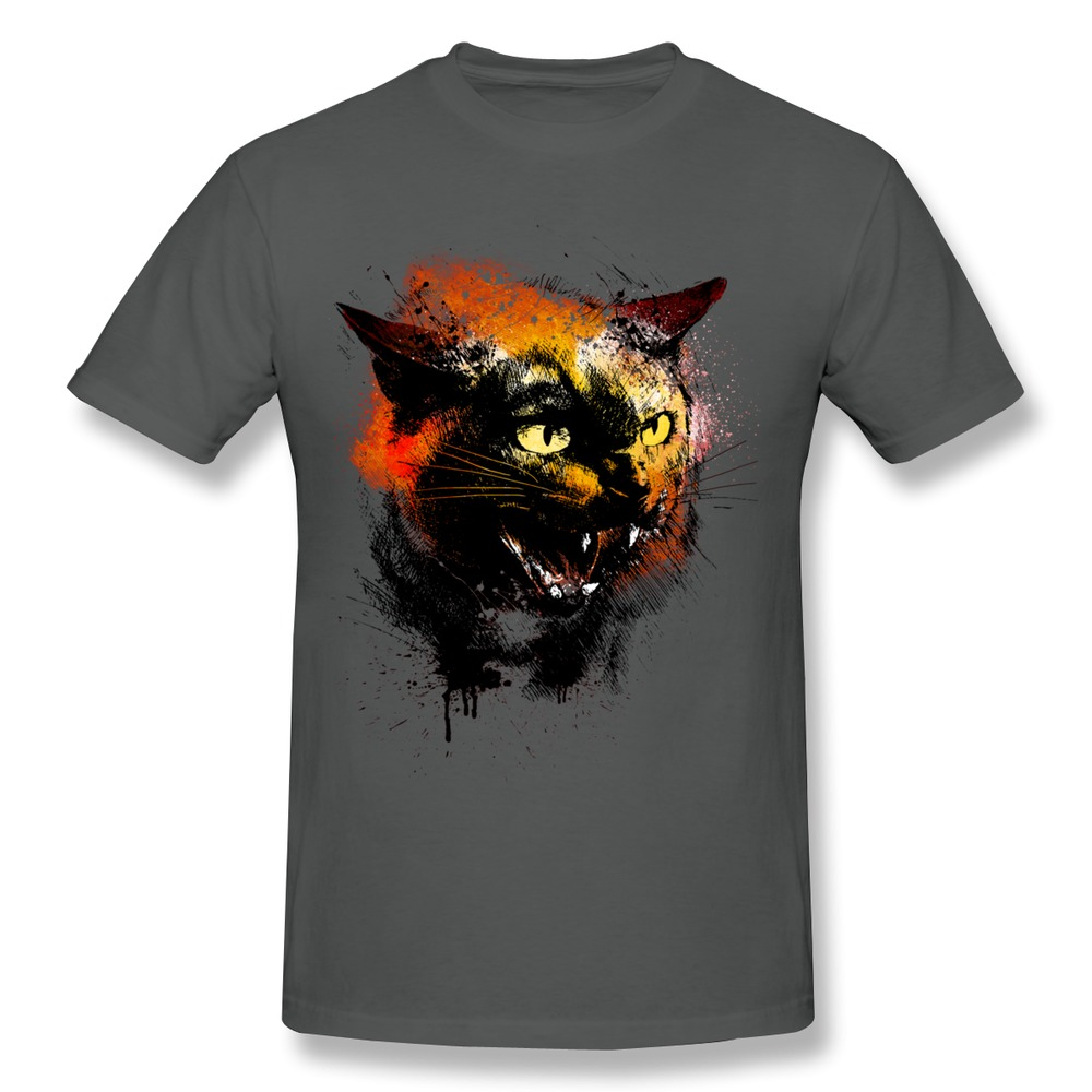 Make own 100 cotton men t shirt wild cat cool symbols t for Make your own shirt and sell it