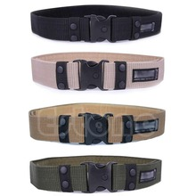 Adjustable Survival Men Heavy Duty Combat Waistband Army Military Tactical Belts