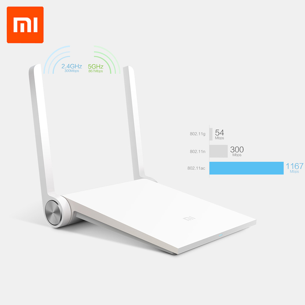 English Version Original Xiaomi Router Mi Wifi Router Dual-band 2.4GHz/5GHz 1167Mbps Wi-Fi 802.11ac Support iOS/Android APP(China (Mainland))