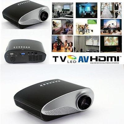 Проектор 200lumens /hdmi USB