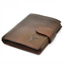 Men Wallets Brand Vintage Designer Genuine Oil Wax Leather Cowhide Short Bifold Wallet Purse Card Holder With Coin Pocket