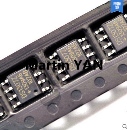 Free Shipping 100PCS/LOT DS1307Z DS1307 SOP-8 MAXIM Real Time Clock 64x8 Serial I2C RTC(China (Mainland))