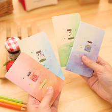 1 Pc / Pack Creative Fantasy Life Notebook Diary Book Exercising Notepad Gift Stationery School Supply Escolar Papelaria
