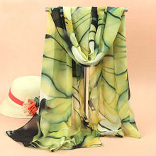 ODEMA Euro 2015 New Fashion Women Ladies Chiffon Scarf Soft Shawl Wrap Neck Warm Stole Scarves