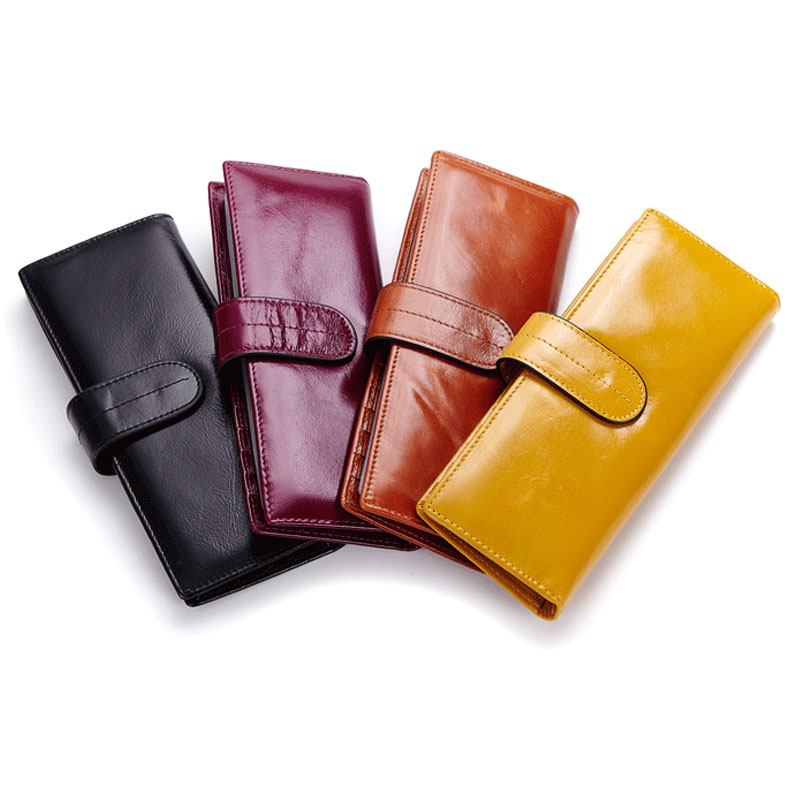 100% Head Layer Cowhide double Hasp women card holer wallet name ID Card bag High Quality cow Leather 56 pcs Card purse 3051(China (Mainland))