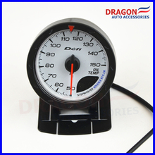 2.5 inch 60MM DF Advance CR Gauge Meter Oil Temp Gauges White Face Sensor - Dragon Auto Accessories Co.,LTD store